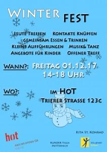 Plakat Winterfest