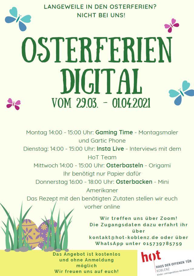 Osterferien digital